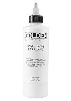 Golden Acrylic Medium - Glazing Liquid Satin (236ml):