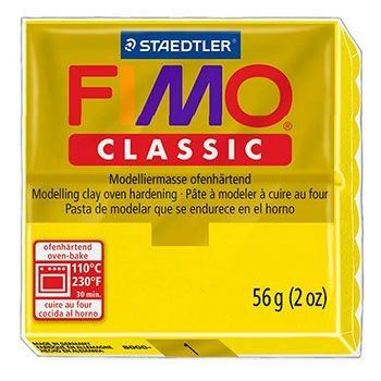 Staedtler Fimo Classic - Yellow (56g):