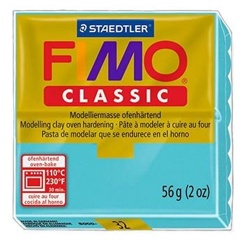 Staedtler Fimo Classic - Light Turquoise (56g):