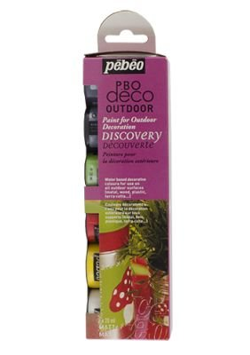 Pebeo Discovery Collection - Outdoor 6 x 20ml: