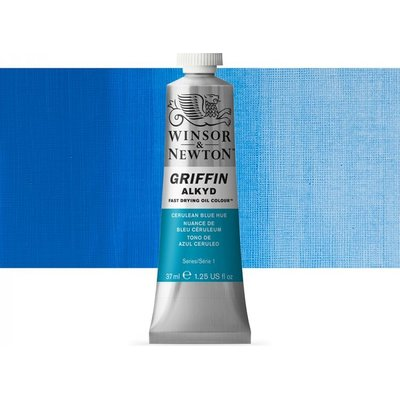 Griffin Alkyd Oil - Cerulean Blue Hue (37ml):