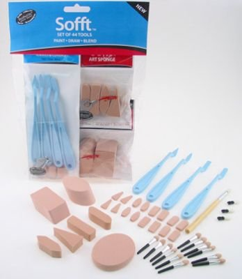 PanPastel Sofft Tools Combination Set: