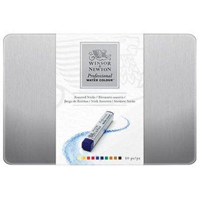 Winsor & Newton Professional Watercolour Stick - Set of 10:
