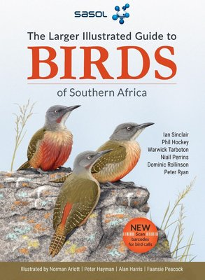 The Larger Illustrated Guide Sasol Birds Of Southern Africa (Paperback): Ian Sinclair, Phil Hockey