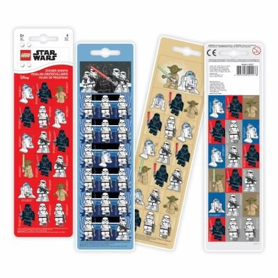 Lego Star Wars - Sticker Sheets (4 Sheets):