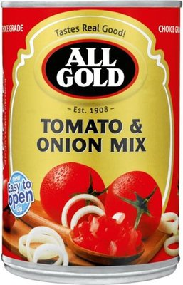 All Gold Tomato & Onion Mix Can (410g):