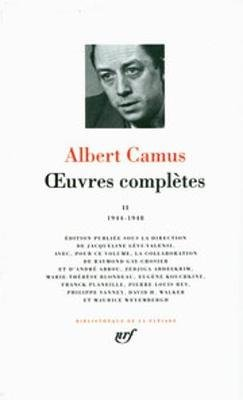Oeuvres Completes 2 - Leatherbound (French, Hardcover): Albert Camus