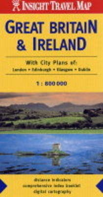 Great Britain and Ireland Insight Travel Map (Sheet map, folded, New edition):
