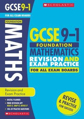 Maths Foundation Revision and Exam Practice Book for All Boards (Paperback): Naomi Norman, Gwen Burns, Catherine Murphy