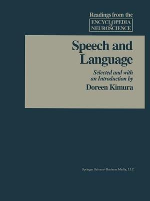 Speech and Language (Paperback, 1989): Adelman