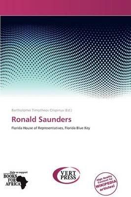 Ronald Saunders (Paperback): Bartholomei Timotheos Crispinus