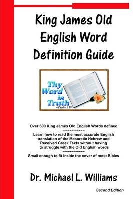 King James Old English Word Definition Guide (Electronic