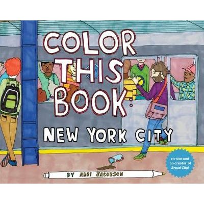 Color This Book - New York City (Novelty book): Abbi Jacobson