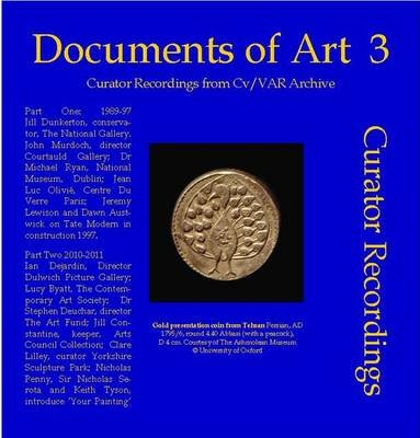 Documents of Art 3 - Curator Recordings from CV/Var Archive (DVD Audio): N.P. James, S. James