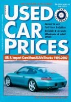 VMR standard automotive guides used car prices - Fall/November 2003 : cars, vans, trucks & sport utilities, 1989-2002...