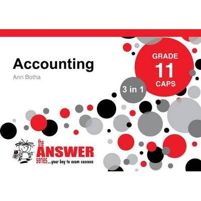 accounting 3 in 1 study guide grade 11 caps paperback ann