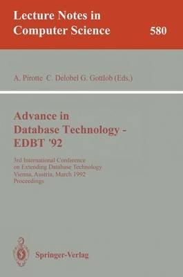 Advances in Database Technology - Edbt '92 (Paperback): Alain Pirotte, Claude Delobel, Georg Gottlob