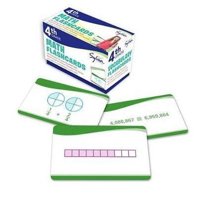 4th Grade Math Flashcards - 240 Flashcards for Improving Math Skills Based on Sylvan's Proven Techniques for Success...