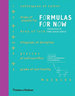 Formulas for Now (Hardcover): Hans Ulrich Obrist