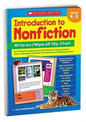 Introduction to Nonfiction Write-On/ Wipe-Off Flip Chart - An Interactive Learning Tool That Teaches Young Learners How to...
