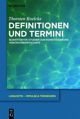 Definitionen Und Termini (English, German, Electronic book text): Thorsten Roelcke