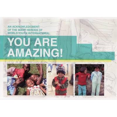 You are Amazing - an Acknowledgement of the Many Heroes of World Youth International (Paperback): World Youth International...