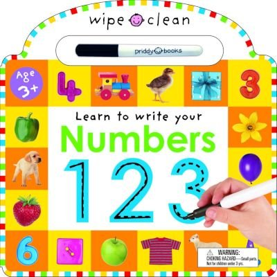Wipe Clean: Learn to Write Your Numbers (Board book): Roger Priddy