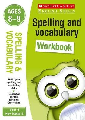 Spelling and Vocabulary Workbook (Year 4) (Paperback): Pam Dowson