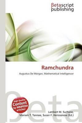 Ramchundra (Paperback): Lambert M. Surhone, Mariam T. Tennoe, Susan F. Henssonow
