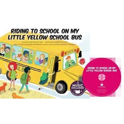 Riding to School in My Little Yellow School Bus (Paperback): Nicholas Ian