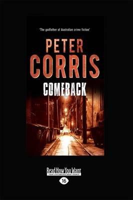 Comeback (Large print, Paperback, [Large Print]): Peter Corris