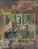Degas - The Dance Class (Hardcover, illustrated edition): Federico Zeri