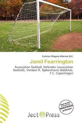 Jamil Fearrington (Paperback): Carleton Olegario M. Ximo