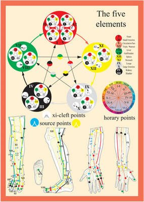Five Elements in Acupuncture -- A4 (Poster): Jan Baarle