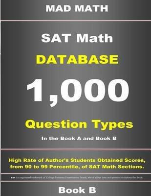 SAT Math Database Book B (Paperback): John Su