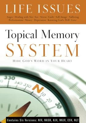 Topical Memory System Life Issues - Hide God's Word in Your Heart (Paperback): Navigators, The Navigators, Bill Hull, Paul...