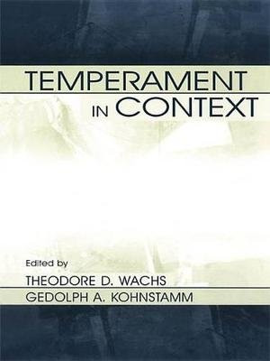 Temperament in Context (Electronic book text): Theodore D. Wachs, Robert R. McCrae