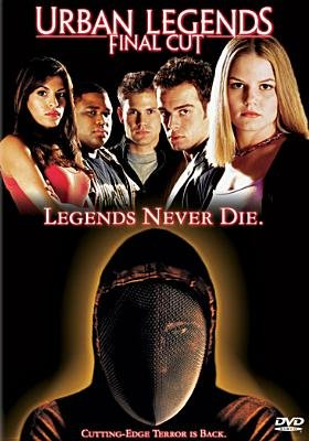 Urban Legends - Final Cut (Region 1 Import DVD, Special): Jennifer Morrison, Anson Mount