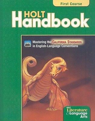 Holt Handbook - Student Edition Grade 7 (Hardcover): Holt