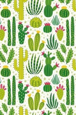 Cactus Notebook - Dot Grid Journal, Softcover (6x9 Inches) with 120 Pages (Paperback): Cactus Power