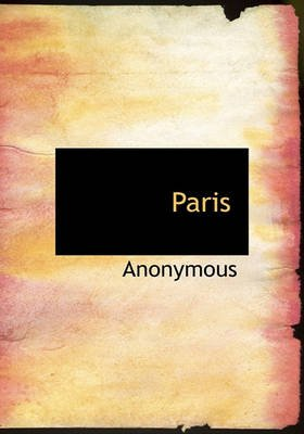 Paris (Hardcover): Anonymous