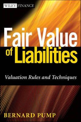 Fair Value of Liabilities (Hardcover): Bernard Pump