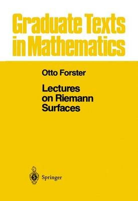 Lectures on Riemann Surfaces (Paperback, Softcover Repri): Bruce Gilligan