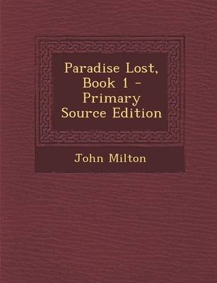 paradise lost book 1 full text