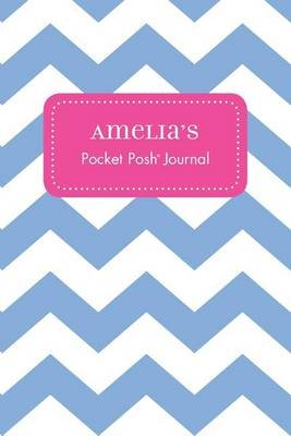 Amelia's Pocket Posh Journal, Chevron (Paperback): Andrews McMeel Publishing