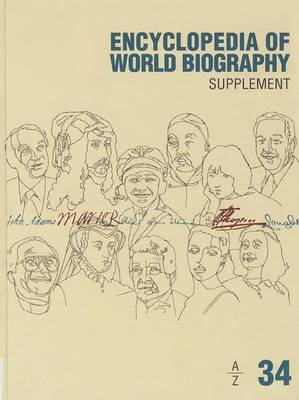 Encyclopedia of World Biography - Supplement (Hardcover, 2nd ed.): Gale