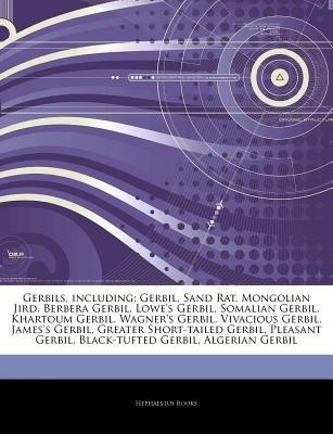 Articles on Gerbils, Including - Gerbil, Sand Rat, Mongolian Jird, Berbera Gerbil, Lowe's Gerbil, Somalian Gerbil,...