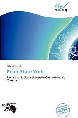 Penn State York (Paperback): Jody Cletus