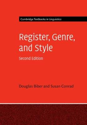 Register, Genre, and Style (Hardcover, 2nd Revised edition): Douglas Biber, Susan Conrad