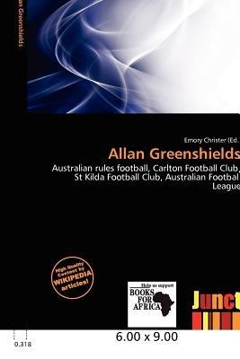 Allan Greenshields (Paperback): Emory Christer